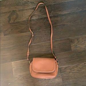J. Crew Leather crossbody purse